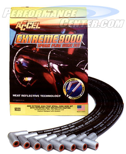Accel Extreme 9000 Ferro-Spiral Heat Reflective Ignition Wire Set