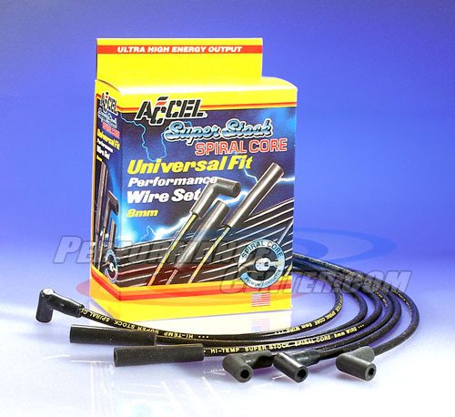 Accel Superstock Spiral Spark Plug Wire Set