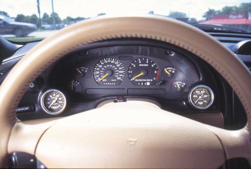 Auto Meter Instrument Cluster Bezels