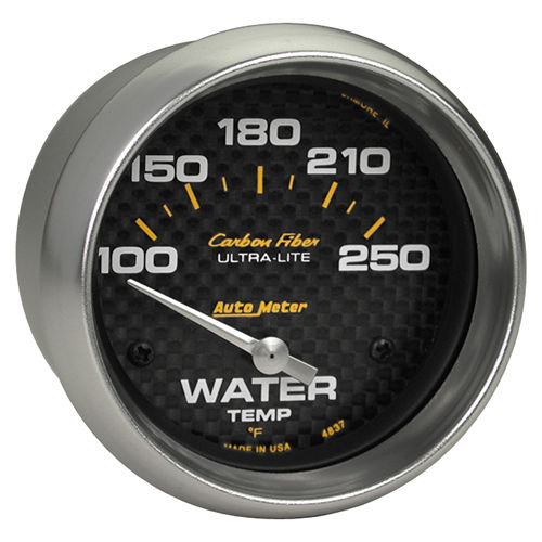 Auto Meter Carbon Fiber Series Gauges
