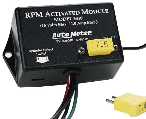 Auto Meter RPM Activated Modules
