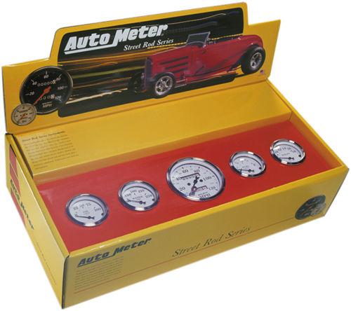 Auto Meter Street Rod Series Gauges