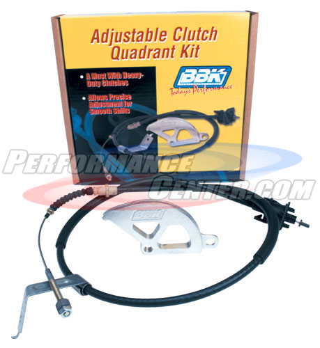 BBK Heavy Duty Adjustable Clutch Cable
