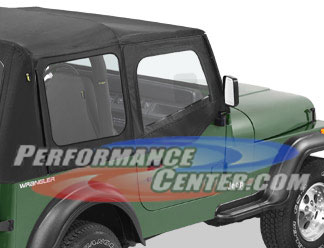 Bestop Bestop Fabric Jeep Door Skins