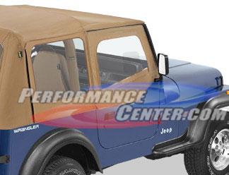 Bestop Bestop Fabric Jeep Door Skins