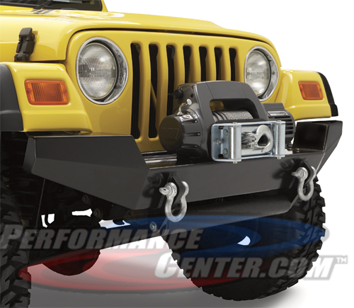 Bestop High Rock 4X4 Front Bumper & Winch Mount