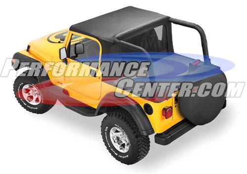 Bestop Jeep Halftop