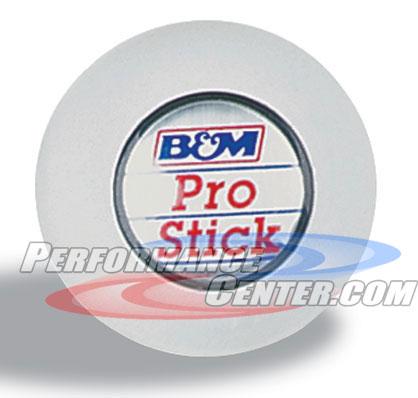 B&M Universal White Shift Knob