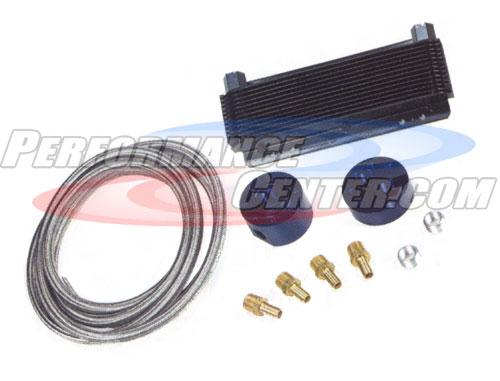 B&M Hi-Tek Engine Oil Cooler Kit