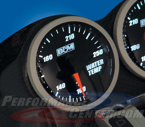 B&M Blackout Gauges
