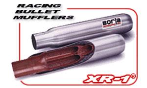 Borla Bullet Racing Muffler
