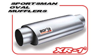 Borla Sportsman Racing Muffler