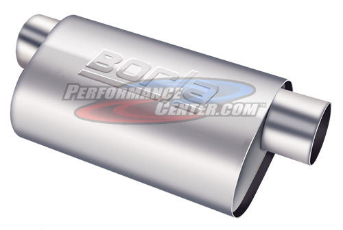 Borla T-304 Stainless Steel Turbo Muffler