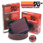 K&N Washable High Flow Air Filter