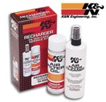 K&N Air Filter Cleaner & Oil