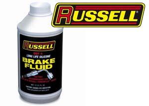 Russell Silicone DOT 5 Brake Fluid