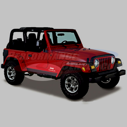 Bushwacker Trail Armor Rocker Panels