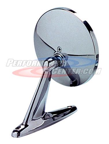Cipa Round Universal Chrome Style Mirror
