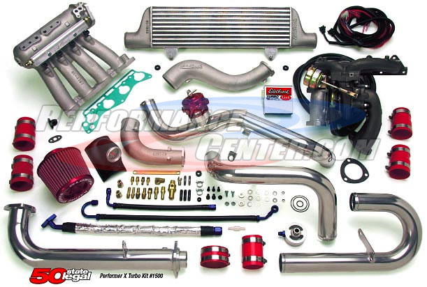 Edelbrock Performer-X Turbocharger System