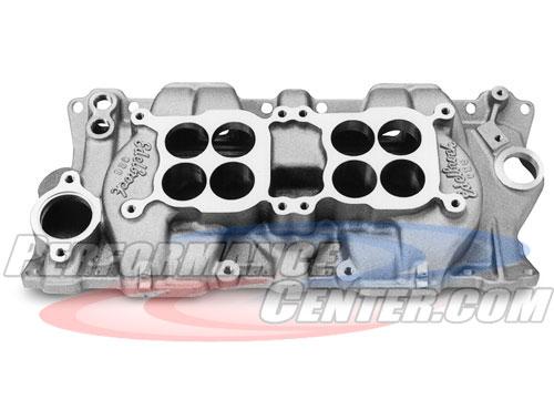 Edelbrock C-26 Dual Quad Manifold Small-Block Chevy Engines