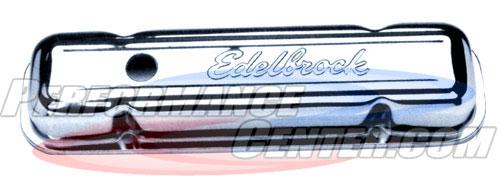 Edelbrock Polished Racing Valve Covers