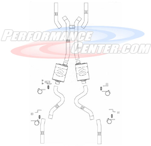 Flowmaster Delta Force Exhaust System
