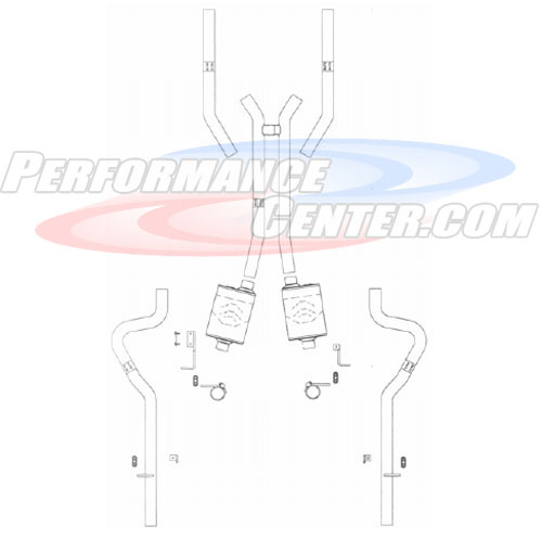 Flowmaster Early Muscle Car Resoration Exhaust System