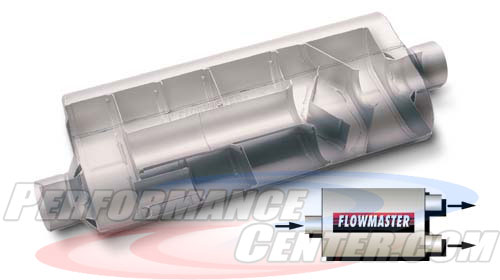 Flowmaster 70 Series Big Block II Three Chamber Muffler