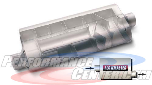 Flowmaster 70 Series Big Block II Three Chamber Muffler