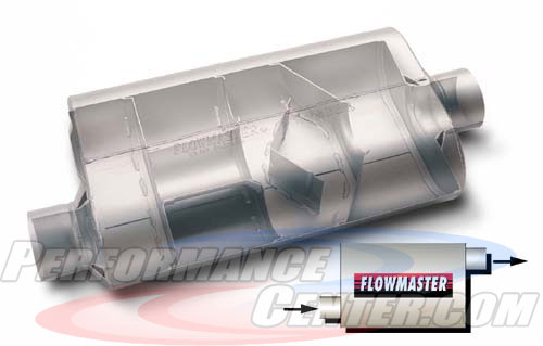 Flowmaster 50 Series Big Block Three Chamber Muffler