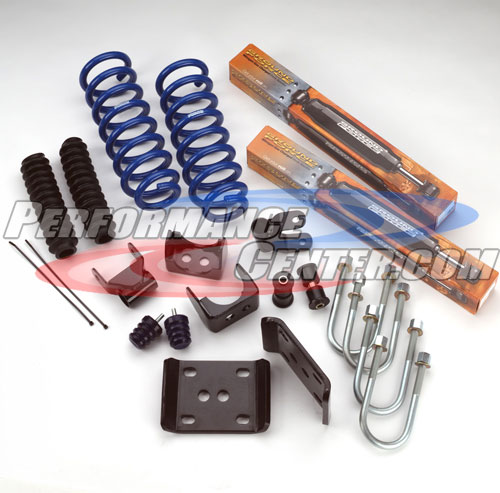 Ground Force Lowered Coil Springs