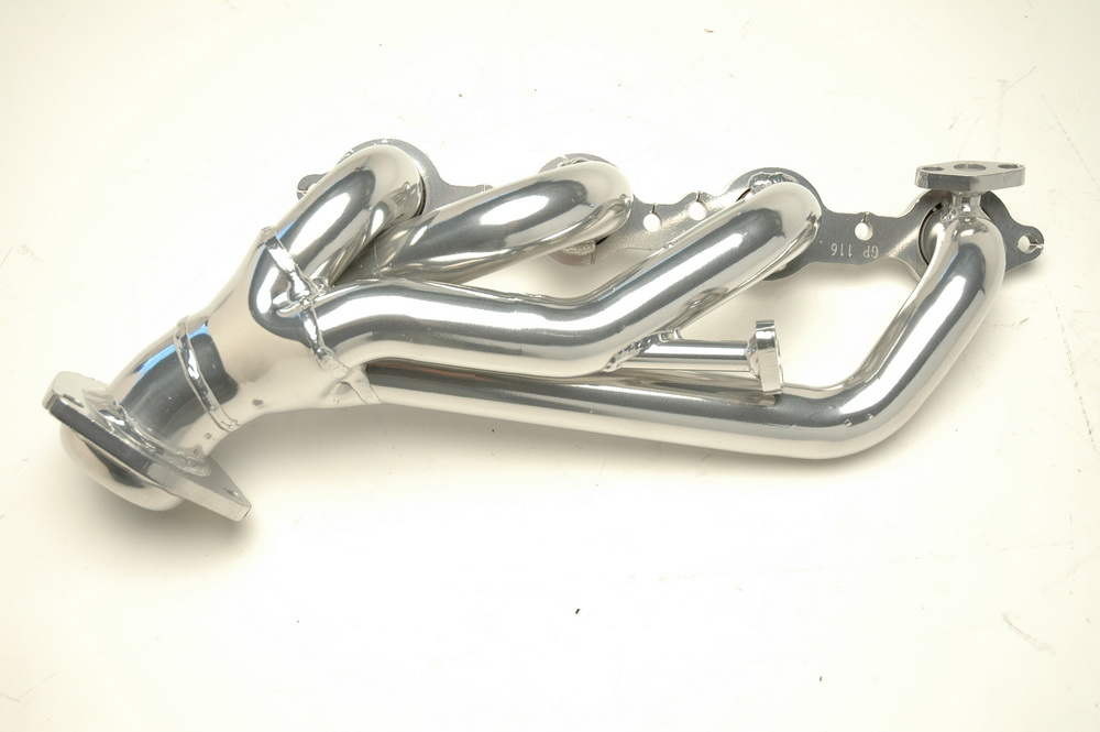 Gibson GP116 Performance Headers, Chrome, 1 5/8 Inch 14 Gauge Tubing
