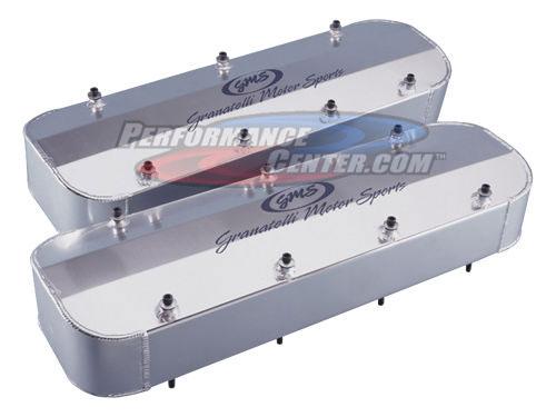 Granatelli Aluminum Valve Covers With Billet Rail