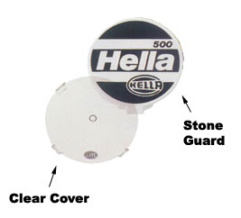 Hella Protective Stone Shield For 220 Series Lamps