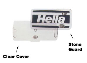Hella Protective Clear Cover For 450 Series Lamps