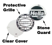 Hella Protective Grille For Ralle 4000 Lamps