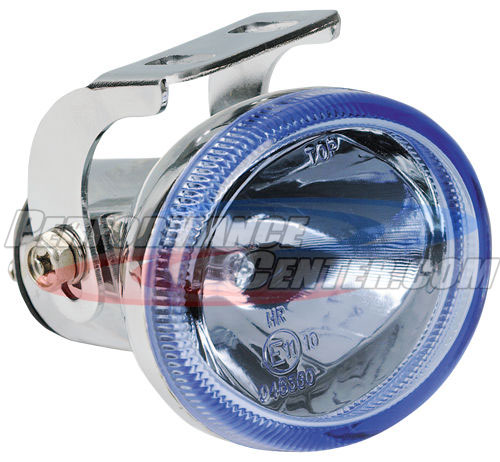 Hella Optilux Model 1502 Chromium Electron Blue Driving Lamp