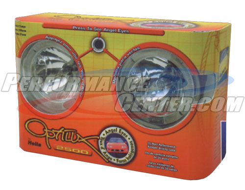 Hella 2500 Series Optilux Angel Eyes