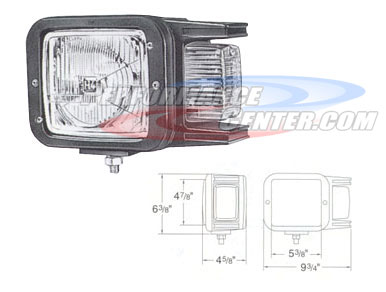 Hella OE Replacement Headlight