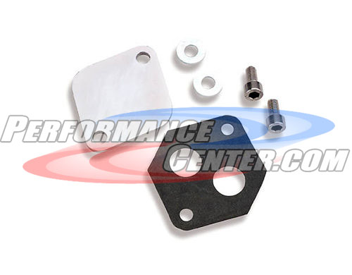 Holley Idle Air Control Block Off Plates
