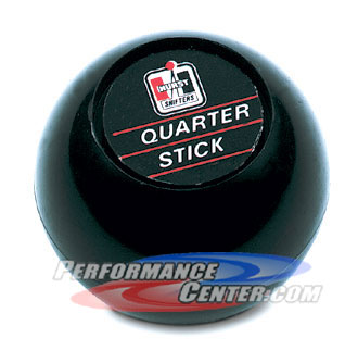 Hurst Black Quarter Stick Replacement Shift Knob