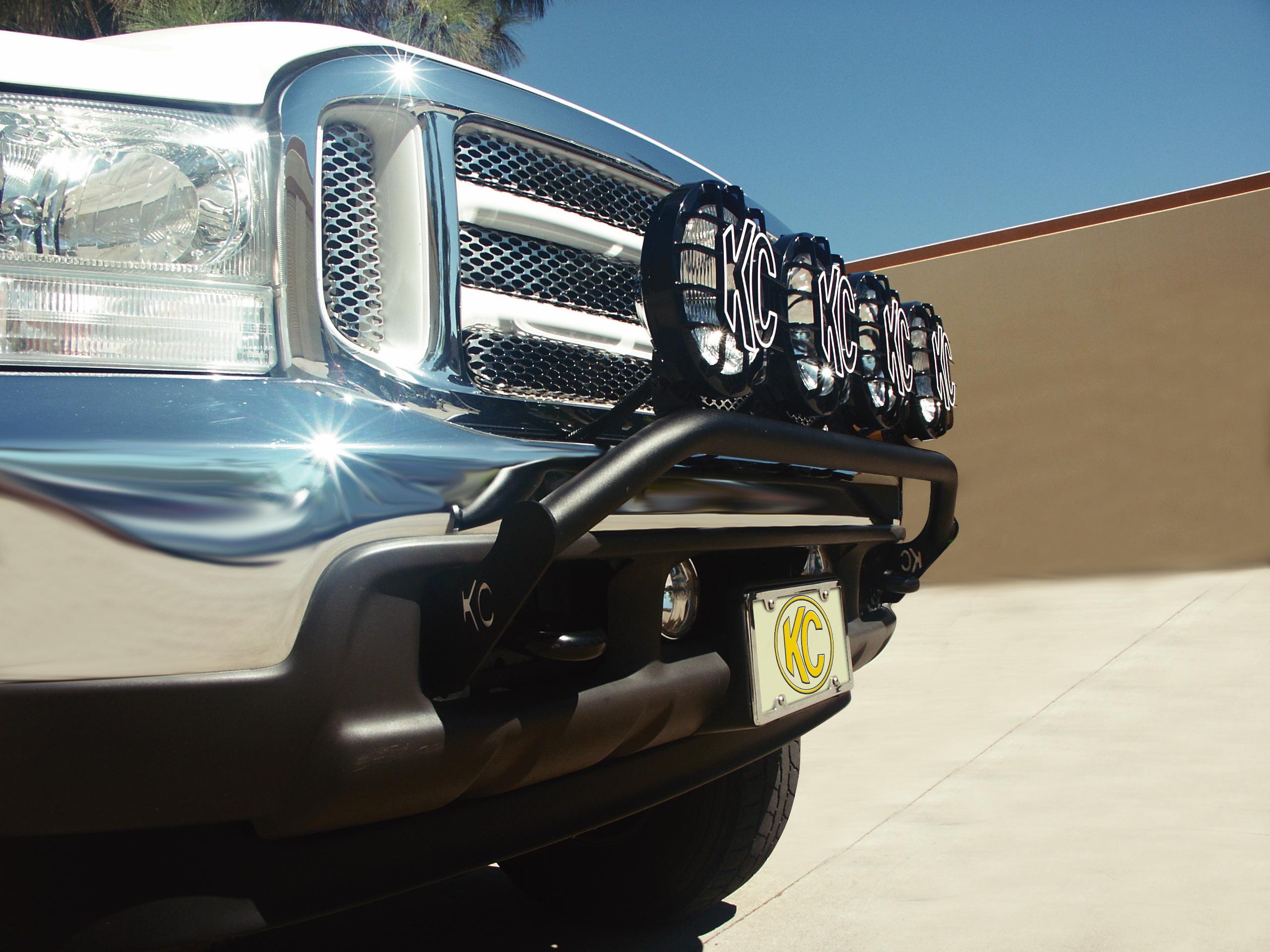 KC Hilites Front Light Bars