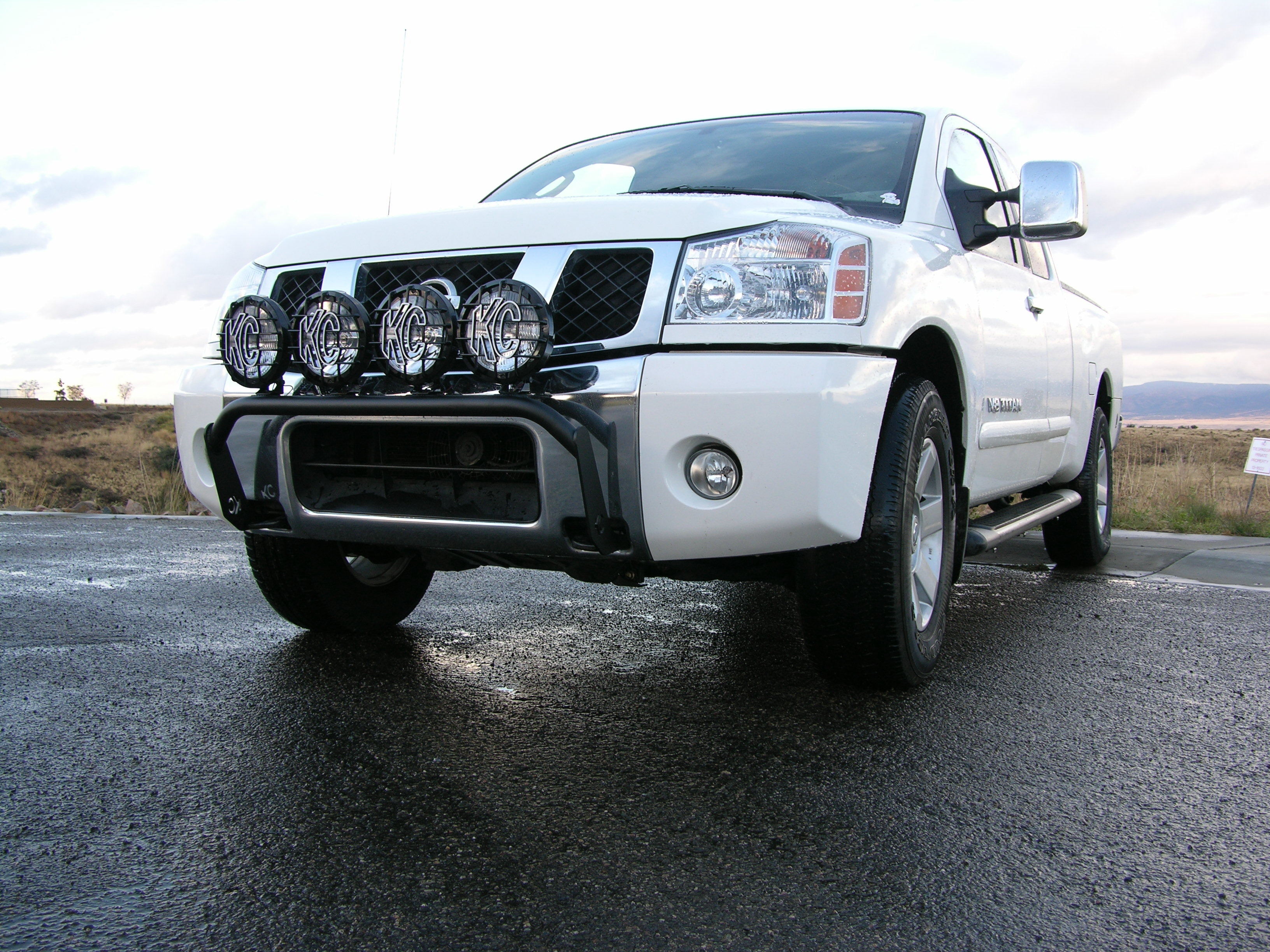 KC Hilites Front Light Bars