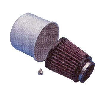 K&N Rubber Mounted Flanged Air Cleaners