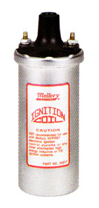 Mallory Chrome Electronic Ignition Coil