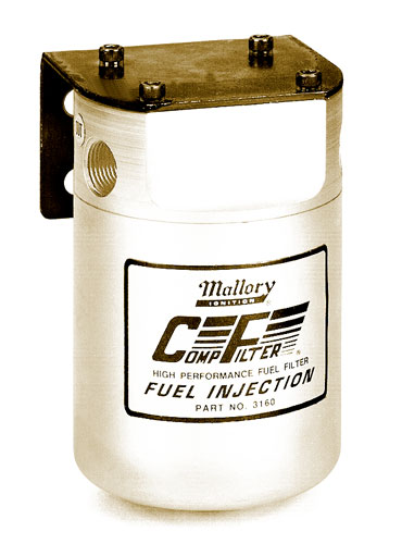 Mallory Comp Series Fuel Filters