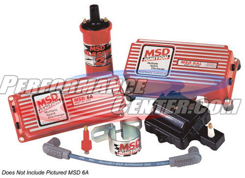 MSD Super HEI Kit With MSD 6AL Ignition