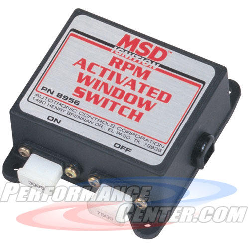 MSD RPM Activated Switches
