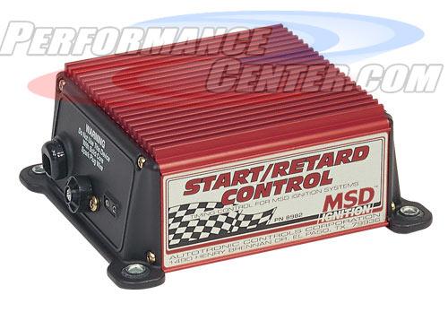 MSD Startup Retard Controls
