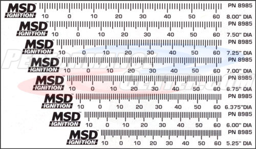 MSD Timing Tape